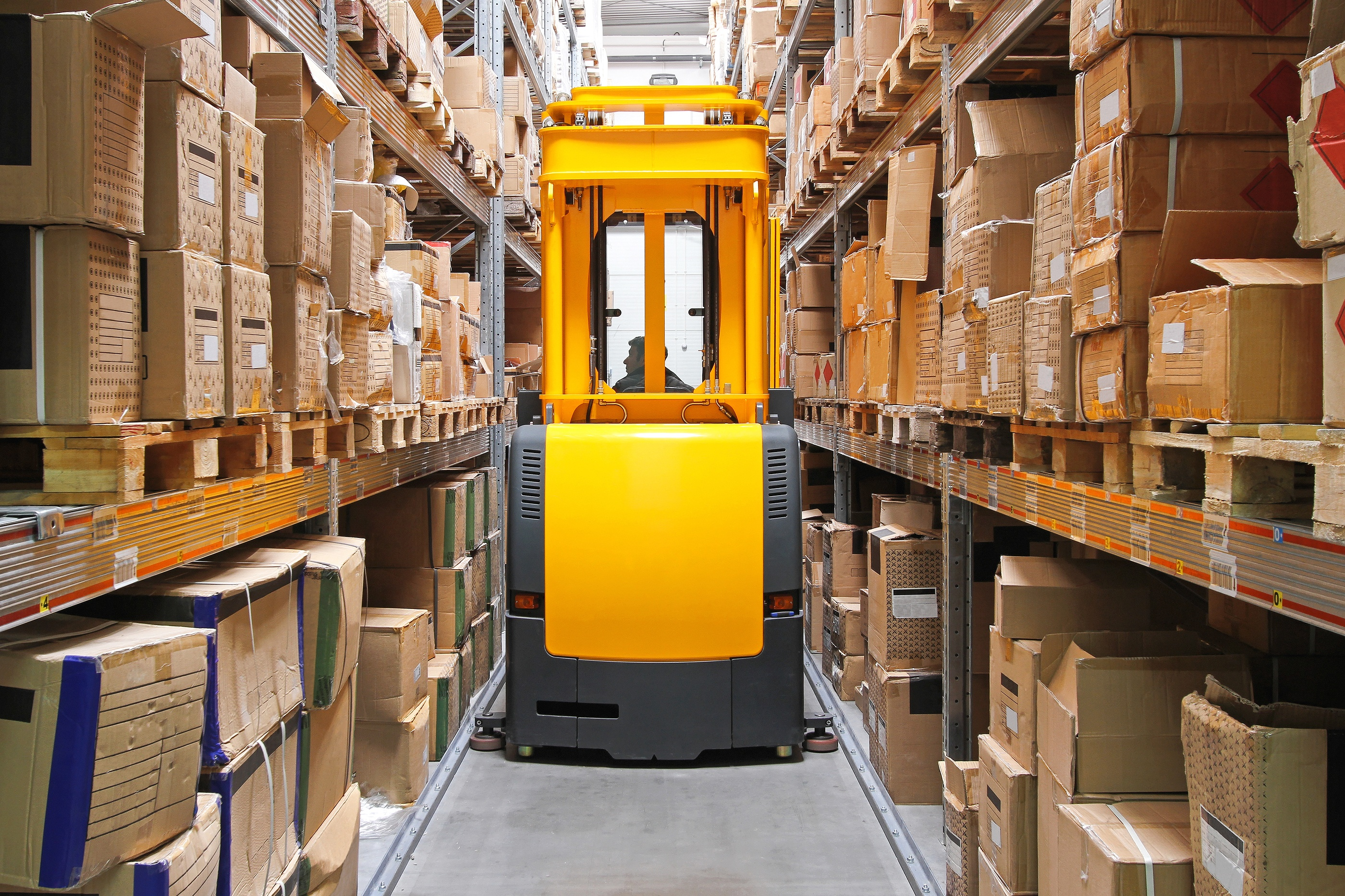 warehouse management - warehouse history - supply chain technology