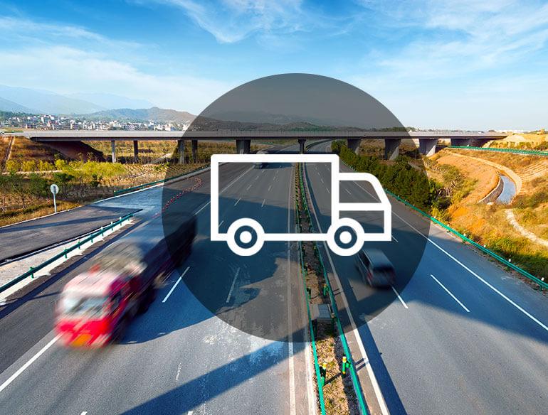 Transport management software icon