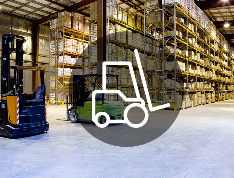 Warehouse management software icon