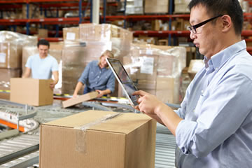 Visibility from order capture to delivery in real-time