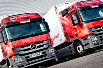 Logistics software chosen by leading organisations with warehouse and/or transport operations