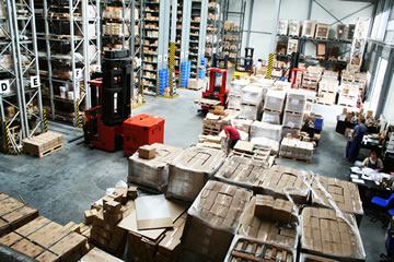 Meet OTIF targets with warehouse management software