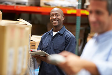 Inventory visibility throughout the supply chain