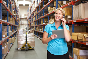 Achieve traceability and visibility from receipt to delivery
