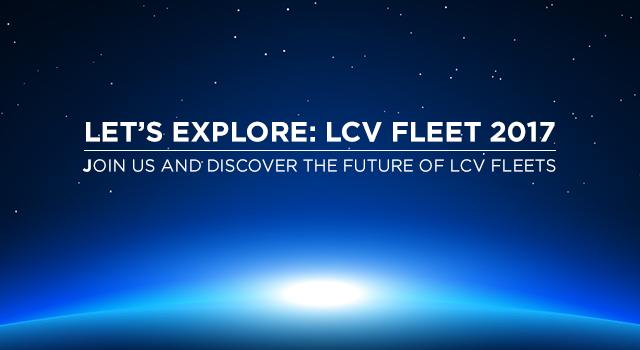 We are Exhibiting at: LET'S EXPLORE: LCV FLEET 2017