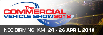 We are exhibiting at The Commercial Vehicle Show