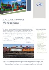 CALIDUS Terminal Management