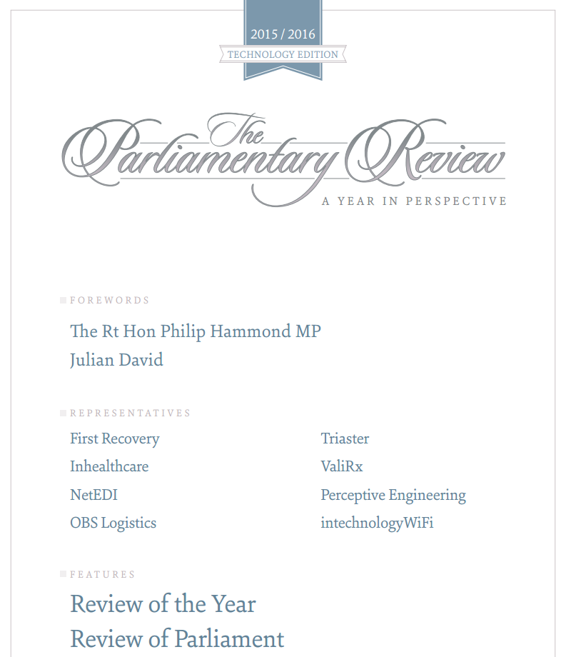 OBS Logistics feature on the Parliamentary Review