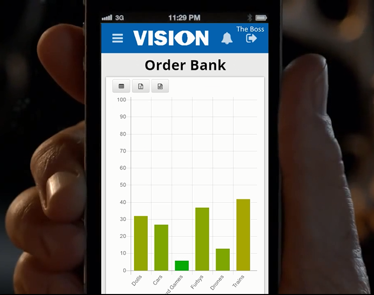 OBS Logistics launch new product Vision